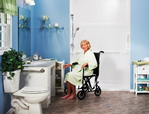handicap shower